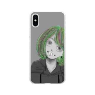 に!!! Soft clear smartphone cases