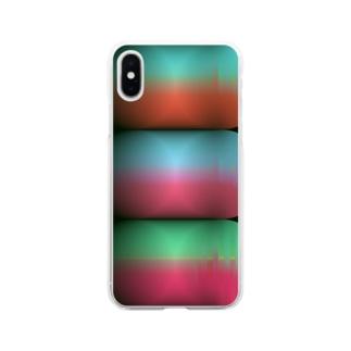 グラフィック Soft clear smartphone cases
