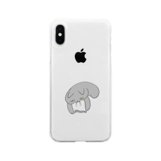 とけねこ Soft clear smartphone cases