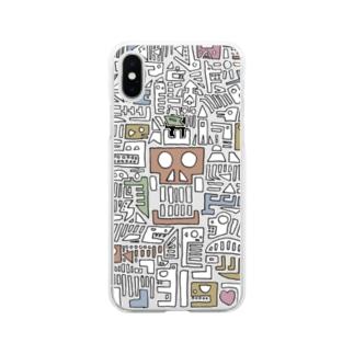hekiga Soft clear smartphone cases