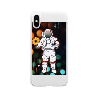 地球防衛隊! Soft clear smartphone cases
