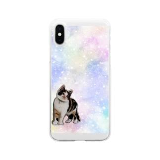ファンシーさんまちゃん Soft clear smartphone cases