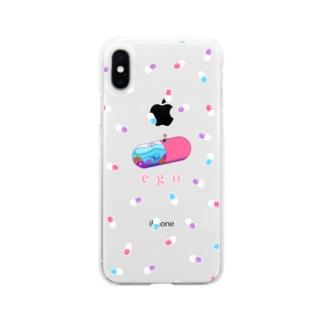 """ego""スマホケース【toku】 Soft clear smartphone cases"