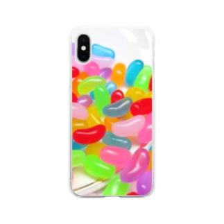ゼリービーンズ Soft clear smartphone cases