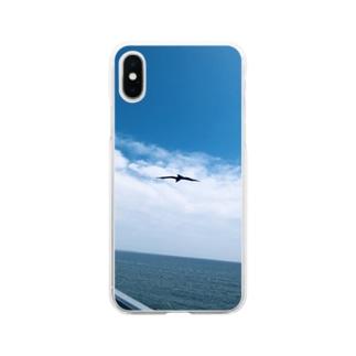そらとり Soft clear smartphone cases