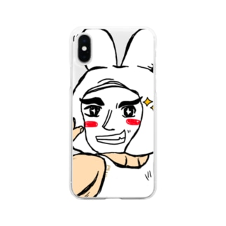 キラーン Soft clear smartphone cases