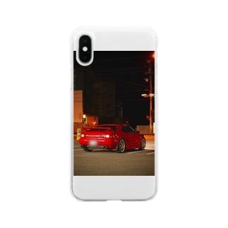 車スマホケース Soft clear smartphone cases
