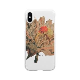 虚漏拿渦や浄化し 賜ふ蓮の華 ともぞうこころの俳句          Soft clear smartphone cases