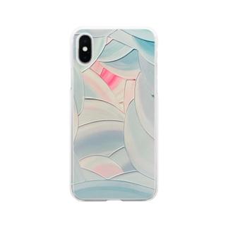 西の魔女が死んだ Soft clear smartphone cases