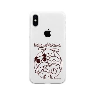 仲間ナカマ Soft clear smartphone cases
