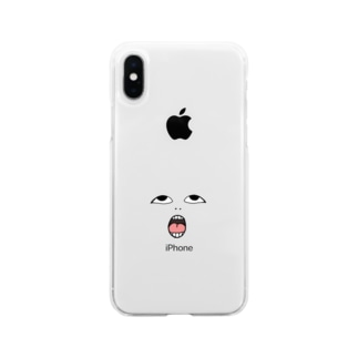 Strange face Soft clear smartphone cases