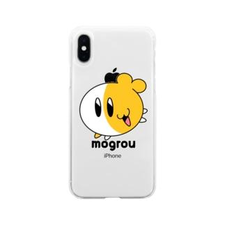 もぐろう☆スタンダード Soft clear smartphone cases