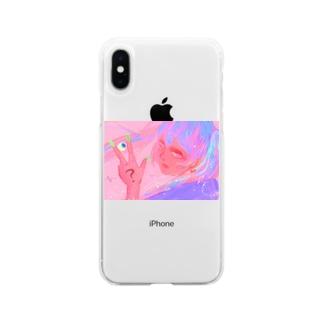 カトウちゃん Soft clear smartphone cases
