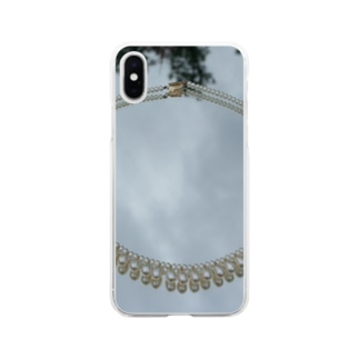 pearlⅩⅣ Soft clear smartphone cases