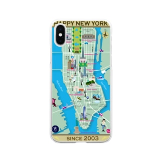 HAPPY NEW YORK! Soft clear smartphone cases