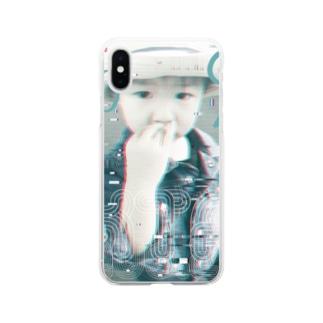 eseeのCool Glitch Soft clear smartphone cases