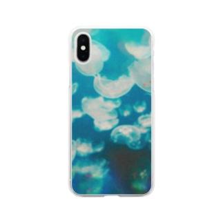 海月 Soft clear smartphone cases