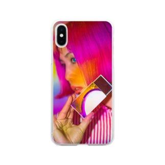 ピンキーピエロピンナップ🤡PPP Soft clear smartphone cases