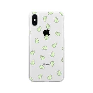 増殖も~さん Soft clear smartphone cases