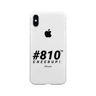#810 ソフトスマホケース Soft clear smartphone cases