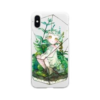 箱庭の君 Soft clear smartphone cases