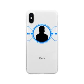 シルエット(かっこいい) Soft clear smartphone cases