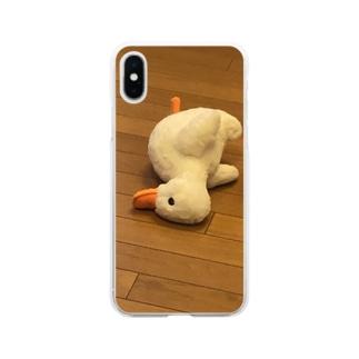 孤独 Soft clear smartphone cases