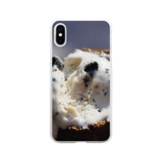 クッキーアンドクリーム Soft clear smartphone cases
