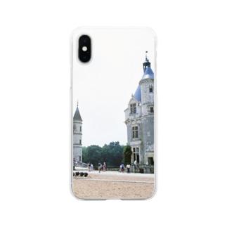 フランス:シュノンソー城 France: Château de Chenonceau Soft clear smartphone cases