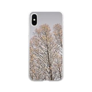 旅シリーズ 凛 Soft clear smartphone cases