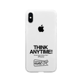 THINK ANY TIME! GOODS Soft clear smartphone cases