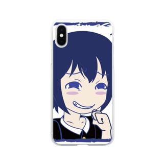 くすくすww Soft clear smartphone cases