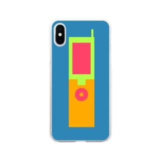 ガラガラケータイ2 Soft clear smartphone cases