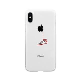 ルーキーズシューズ Soft clear smartphone cases