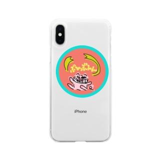 ぶひぶひんちゃん Soft clear smartphone cases