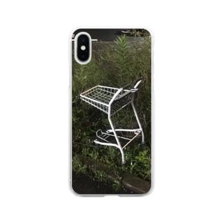 野生のカート Soft clear smartphone cases