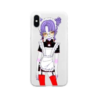 チャイナメイドさん Soft clear smartphone cases