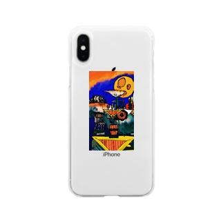 異世界風景録1 Soft clear smartphone cases