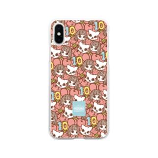 でこニキ10th Soft clear smartphone cases