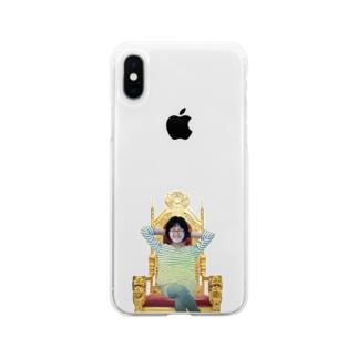 人を煽るグンジさん Soft clear smartphone cases
