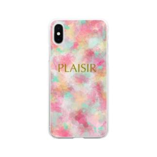 PLAISIR Soft clear smartphone cases