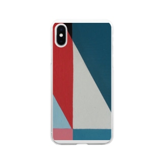 Geometric Letter series 'M' Soft clear smartphone cases
