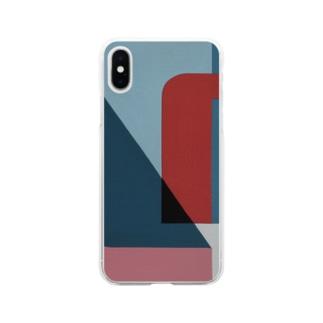 Geometric Letter series 'U' Soft clear smartphone cases