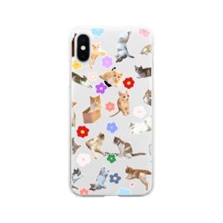 ちょみー×フラワー Soft Clear Smartphone Case