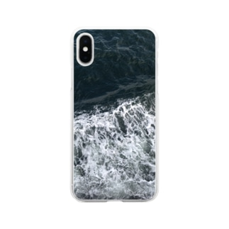 sea Soft clear smartphone cases