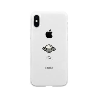 マスク泥棒!! Soft Clear Smartphone Case