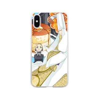 大神官様の大レシピ Soft clear smartphone cases