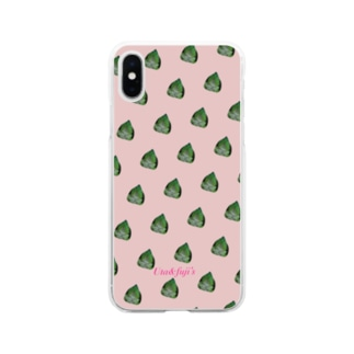 ちりパレード Soft clear smartphone cases