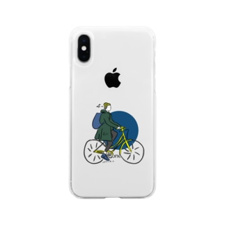 金枠ガール Soft clear smartphone cases