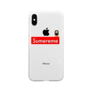 【世界史】Sumereme-シュメール人ブランド Soft clear smartphone cases